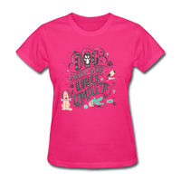 Dogs Lives Complete - Women's - fuchsia