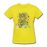 Dogs Lives Complete - Women's - yellow