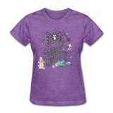 Dogs Lives Complete - Women's - purple heather