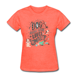Dogs Lives Complete - Women's - heather coral
