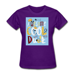 Awesome Cool Dude - Women's - purple
