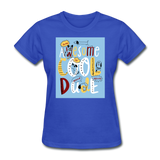 Awesome Cool Dude - Women's - royal blue