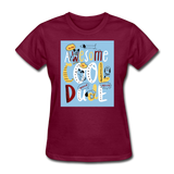 Awesome Cool Dude - Women's - burgundy