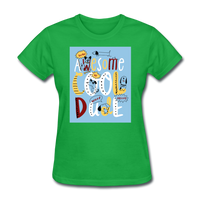 Awesome Cool Dude - Women's - bright green