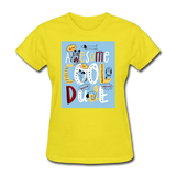 Awesome Cool Dude - Women's - yellow