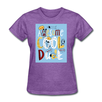 Awesome Cool Dude - Women's - purple heather