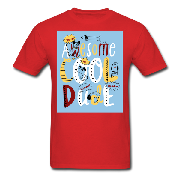 Awesome Cool Dude - Unisex - red