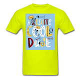 Awesome Cool Dude - Unisex - safety green