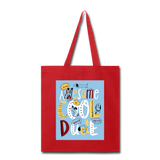 Awesome Cool Dude - Tote2 - red