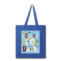 Awesome Cool Dude - Tote2 - royal blue