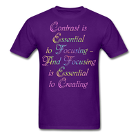 Contrast is Essential - Unisex - purple
