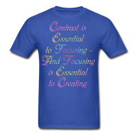 Contrast is Essential - Unisex - royal blue