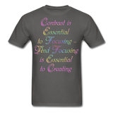 Contrast is Essential - Unisex - charcoal