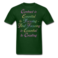 Contrast is Essential - Unisex - forest green