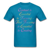 Contrast is Essential - Unisex - turquoise