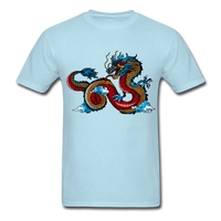 Red Dragon - Unisex - powder blue