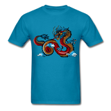 Red Dragon - Unisex - turquoise