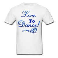 Love to Dance! Blue Gel - Unisex - white