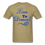 Love to Dance! Blue Gel - Unisex - khaki