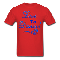 Love to Dance! Blue Gel - Unisex - red