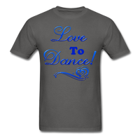 Love to Dance! Blue Gel - Unisex - charcoal