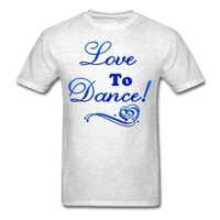 Love to Dance! Blue Gel - Unisex - light heather gray