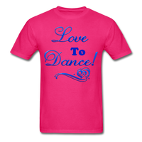 Love to Dance! Blue Gel - Unisex - fuchsia
