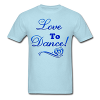 Love to Dance! Blue Gel - Unisex - powder blue