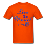 Love to Dance! Blue Gel - Unisex - orange