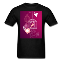 Pink Dove Collage - Unisex - black