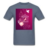 Pink Dove Collage - Unisex - denim