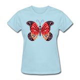 Mexican Butterfly - Women's - powder blue