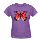 Mexican Butterfly - Women's - purple heather