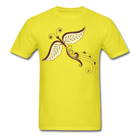 Butterfly Swirl Tail - Unisex - yellow