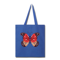 Mexican Butterfly - Tote - royal blue