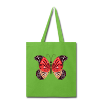 Mexican Butterfly - Tote - lime green