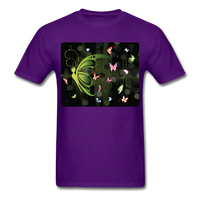 Green Butterfly Collage - Unisex - purple