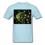 Green Butterfly Collage - Unisex - powder blue
