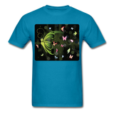 Green Butterfly Collage - Unisex - turquoise