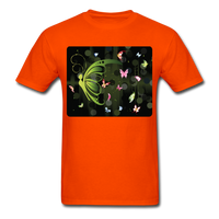 Green Butterfly Collage - Unisex - orange