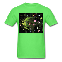 Green Butterfly Collage - Unisex - kiwi