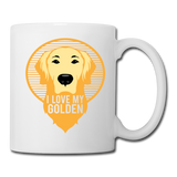 I Love my Golden - Mug - white