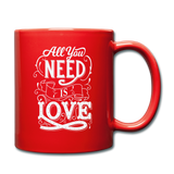 All You Need is Love - Mug - red