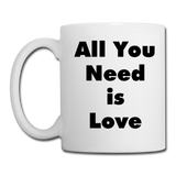 All You Need is Love #2 - Mug2 - white