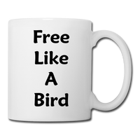 Free Like A Bird #2 - Mug - white