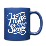 Hope Never Sleeps - Mug - royal blue