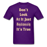 Dont Look At It - Unisex - purple
