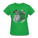Cat Owners Know - Womens - bright green