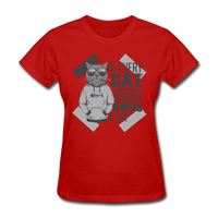 Cat Owners Know - Womens - red