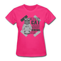 Cat Owners Know - Womens - fuchsia